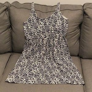 Medium navy dots H&M dress
